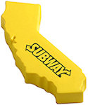 California Shape Stress Balls